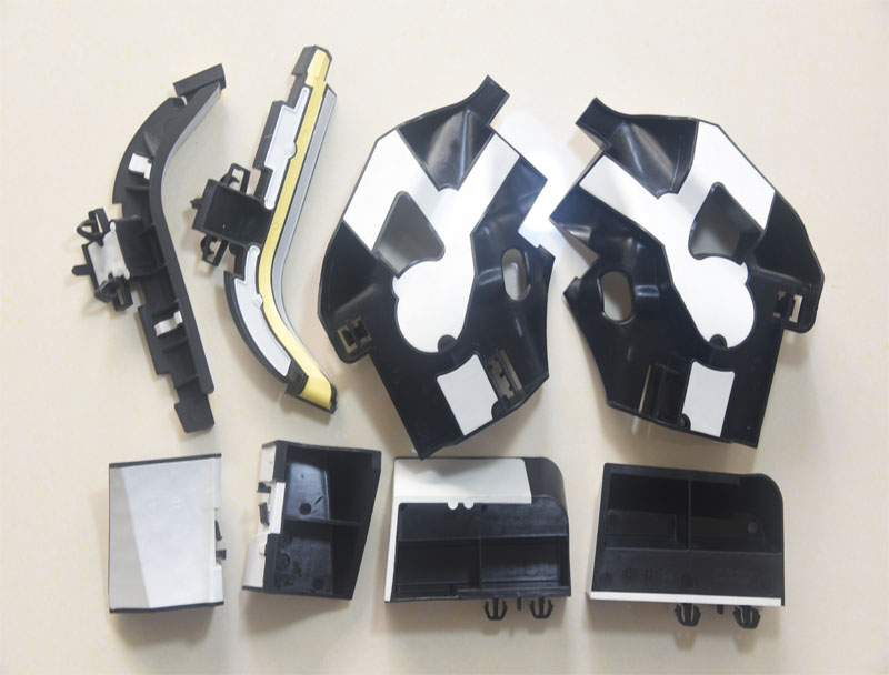 Plastic Overmolded parts for Geely D column