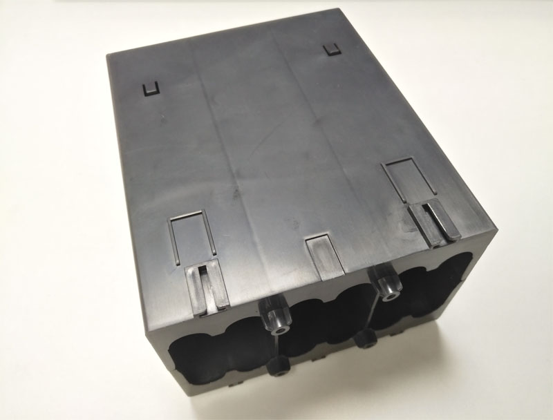 Power supply accessories by injection molding