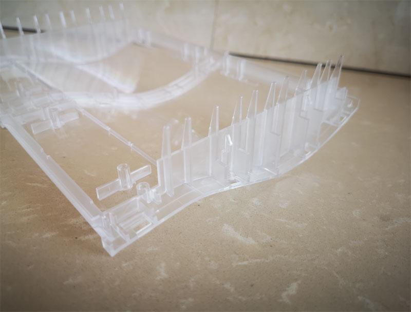 Plastic window of lottery Printer